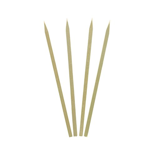 Royal Bamboo 7'' Flat Skewers for Grilling, Satay, and Skewered Vegetables, Case of 3,000 by Royal