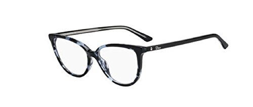 Dior Montaigne 33 - Blue Havana 0JBW - For Glasses Dior Women Frames