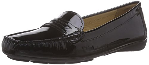 Geox D Grin B, Women's Mocassins Black (C9999black)