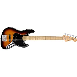 Fender Deluxe Active Jazz Bass V – Maple Fingerboard – 3-Color Sunburst