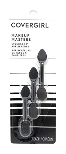 CoverGirl Makeup Masters Eyeshadow Applicators 3 ea (Pack of 3)