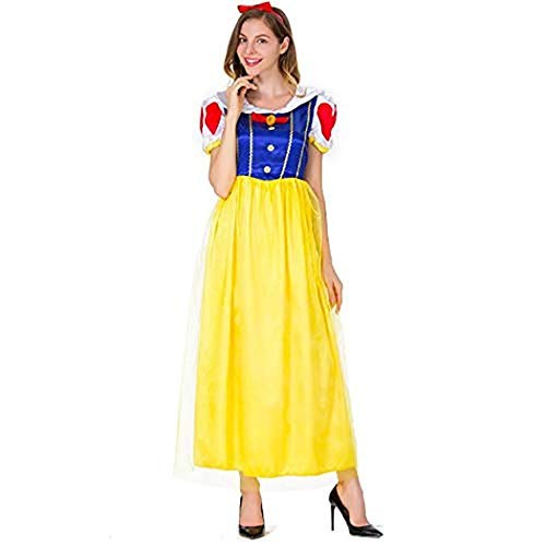 Snow White Princess Costume Adult Fantasias Feminina Princess Cosplay Women Sexy Halloween Role Play Costume -