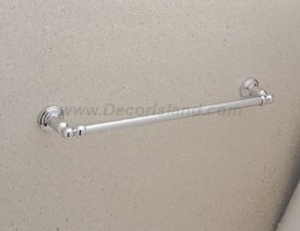 Rohl U.6941IB Special or der Only Non-Cancelable and Non-Returnable Perrin & Rowe Single Towel Bar, 25-1/2