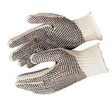 240 Pack PVC Double Side Dot String Gloves Men's 10