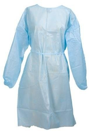 Medi-Pak Performance Fluid-Resistant Gowns - Full back, elastic cuff - 1 Each / Each by McKesson