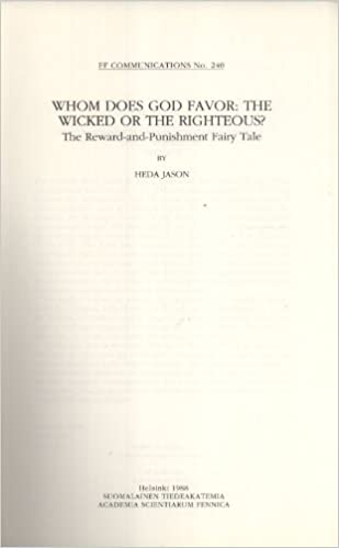 Whom does God favor: The wicked or the righteous? : the reward-and
