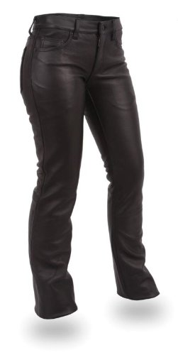 - First Manufacturing Co. Women's Women's Five Pocket Leather Jeans FIL710CFD-4