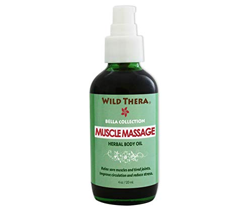 - Wild Thera Herbal Muscle Massage Oil. Natural Organic Deep Tissue massage oil with Arnica for sore muscles, joint pain, arthritis, stiffness, injury, athletic recovery and myofascial release.