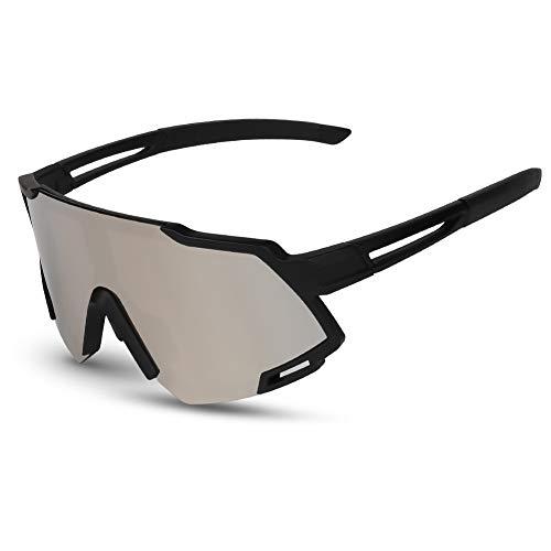 Gardom Sport polarisierte Sonnenbrille für Herren und Damen, UV-Schutz, Anti-blaues Licht, Fahrradbrille für Laufen, Angeln, Klettern, Skifahren, Urlaub