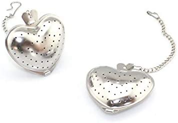 GEPOR Stainless Heart Shaped Strainers Strainer product image