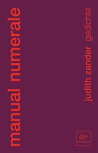 manual numerale: Gedichte