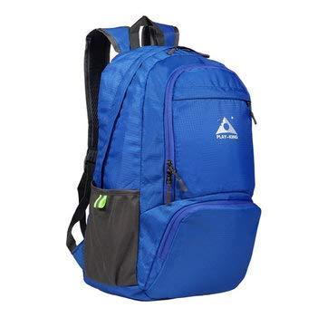 9a4f813dea47 30L Backpack Polyester Foldable Ultralight Waterproof Unisex Shoulder Bag  Travel Outdoor Camping Bag - Outdoor Bag Travel   Storage Bags - (Blue)