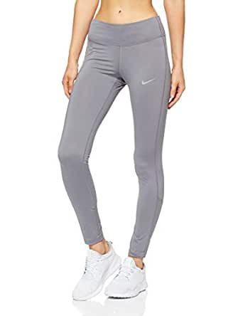 Nike Women's Running Tights 890371-036, Gunsmoke/Gunsmoke, S