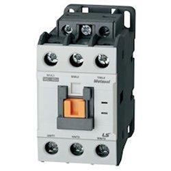 Contactor, 3 Pole, 40A, 2 NO/2 NC, 120VAC coil (50/60Hz), Screw ()