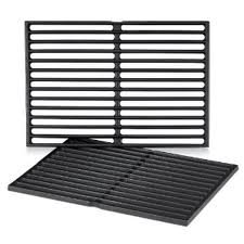Weber Cast Iron Cooking Grates Set of 2 (Fits Spirit 300 series, Spirit 700, Genesis 1000- 3500, Genesis Silver B/C, Genesis Gold B/C, Genesis Platinum B/C 2005 model year ONLY) (Set Weber Grates Cooking)