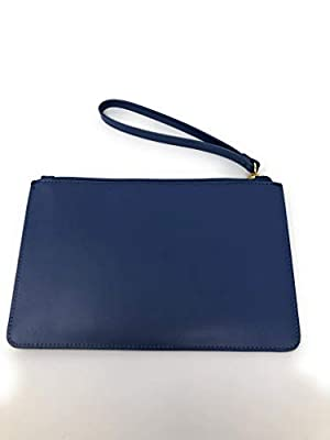 Kate Spade Eli White Street Smooth Leather Wristlet Blue