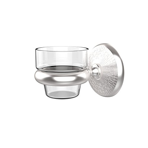 Allied Brass MC-64-SCH Monte Carlo Collection Wall Mounted Votive Candle Holder, Satin Chrome