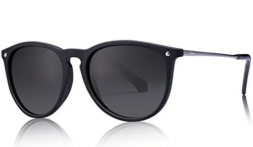 Uv400 Eyewear - Carfia Vintage Polarized Sunglasses for Women Men, 100% UV400 Protection