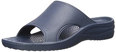 DAWGS Womens Ladies Slide Ladies Slide Blue Size: 5