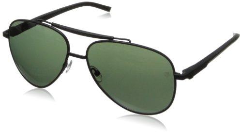 Tag Heuer Automatic88130160 Aviator Sunglasses,Black,60 mm