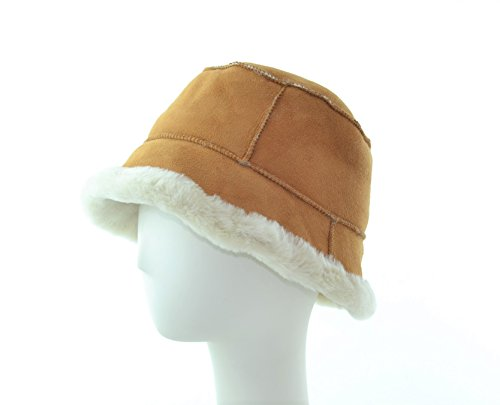 Shearling Lamb (Sheepskin) Bucket Hat (Shearling Bucket Hat)