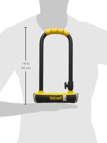ONGUARD Brute STD U-Lock 4.37 x 7.96-Inch