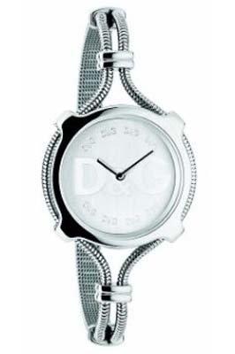 Dolce & Gabbana Lisbon DW0140 - Reloj de mujer de cuarzo con correa de acero inoxidable