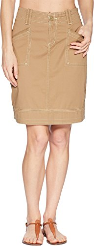 Aventura Clothing Women's Arden Skirt Dark Khaki 8