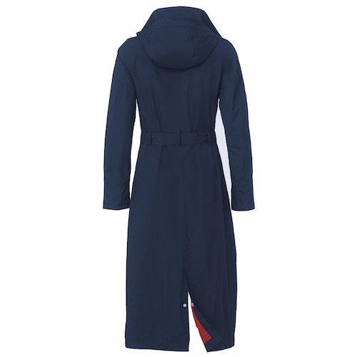 Happyrainydays Manteau Pour Avec Imperméable Longue Bleu Femme Veste Capuche aanrfqZRw