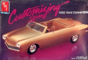 (AMT 6831 1950 Ford Convertible 1/25 Scale Plastic Model Kit)