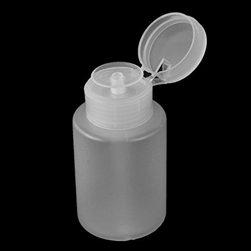 Amazon.com: DealMux Plástico Removedor Nail Art vazio bomba Dispenser Cilindro Bottle 160ml Branco: Health & Personal Care