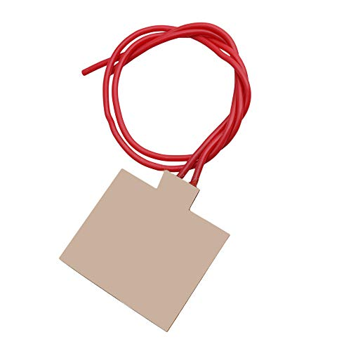 Yibuy 30x40mm 5V 1W Flexible Plastic Heater Plate for Beauty Equipment by Yibuy (Image #3)