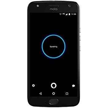 Moto X (4th Generation) - with hands-free Amazon Alexa – 32 GB - Unlocked – Super Black - Prime Exclusive