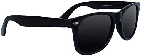 Polarized Wayfarer Sunglasses by Eye Love, Lightweight, 100% UV Protection