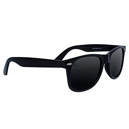Polarized Wayfarer Sunglasses by EYE LOVE, Lightweight, 100% UV Blocking