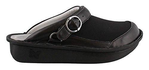 Alegria Seville Dream Fit Women's Clog Shoes Black (37 Regular EU)