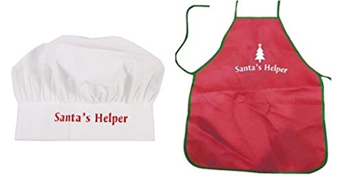 HAPPY DEALS ~ Santa's Helper Apron with