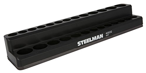 STEELMAN 42032 1/4-Inch Drive Magnetic Socket Holder