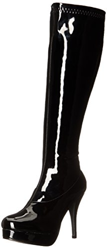 Ellie Shoes Women's 421-Groove Boot, Black, 9 M US