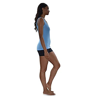 Sexy Basics Tank Tops for Women, 6 Pack & 12 Pack Cotton -Flex Tank Tops at Women's Clothing store