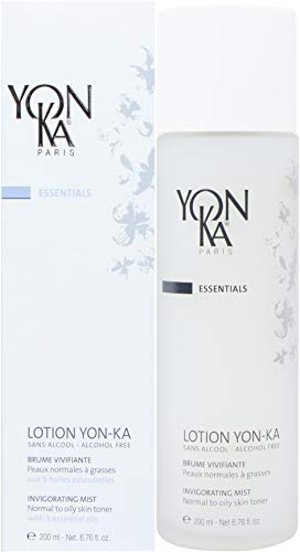 YON-KA ESSENTIALS LOTION PNG Invigorating Mist, (6.7 Ounce / 200 Milliliter) - Oily Skin Toner That Soothes, Energizes and Tones Your Complexion