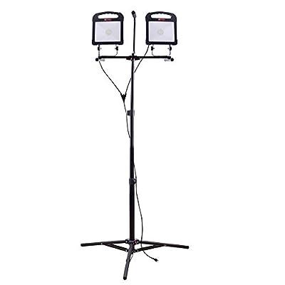 Utilitech Pro 6000-Lumen LED Stand Work Light