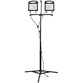 Utilitech Pro 6000 Lumen Led Stand Work Light Amazon Com