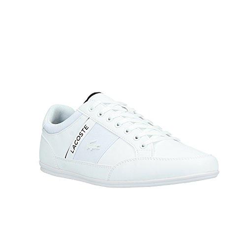 45 EU pour chaussure Lacoste Chaymon Blanc Homme nX8FXUwx