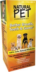 Natural Pet Better Breath, Teeth+Gums For Dogs 4 Ounces