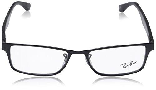 Ray Ban RX6238 Eyeglasses-2509 Shiny Black-53mm