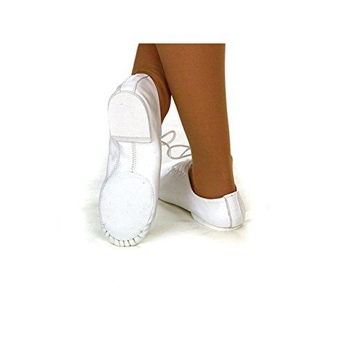 White Jazz Shoe Sole 2 UK EU Dance Pro Line 34 Depot Rubber qYWZIt0w