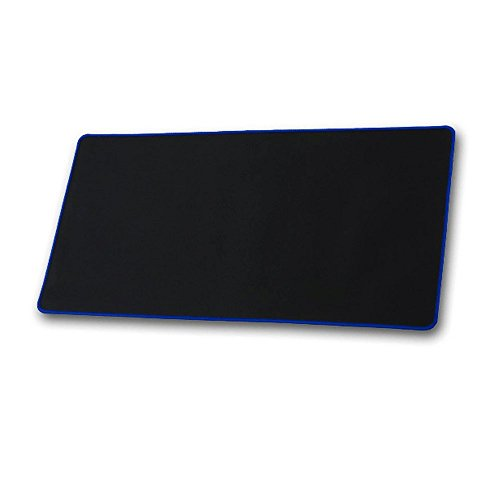 Mouse Pad, Wishshopping 600x300MM Mouse Pad Mouse Mats Pro Ultra Large Rubber Keyboard Mat Professional Gaming Mouse Pad Mat Locking Edge Keyboard Table Mat Game Mouse Pad For PC Laptop-Blue