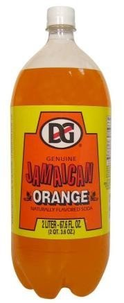 - Genuine Jamaican Orange Soda 2 Lt