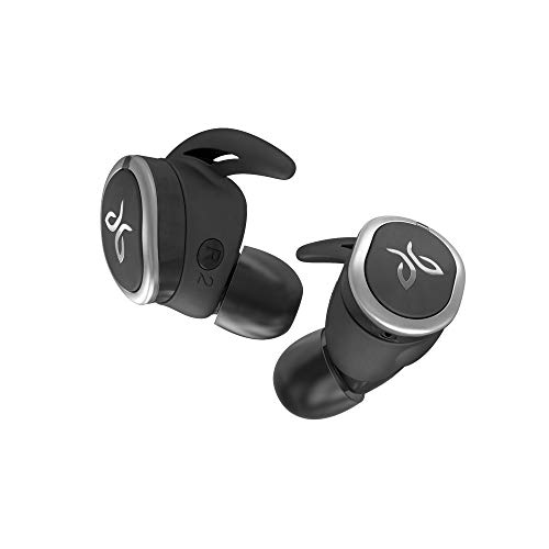 (Jaybird RUN True Wireless Headphones for Running, Secure Fit, Sweat-Proof and Water Resistant, Custom Sound, 12 Hours In Your Pocket, Music + Calls (Jet))
